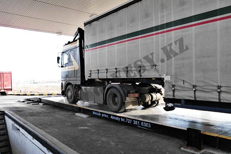 Весы автомобильные, 24 м, 100 тонн, с пандусом
